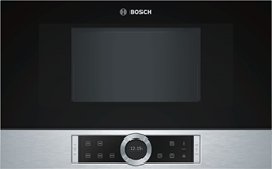 Picture of Bosch BFR634GS1 seriel 8 stainless steel built-in microwave