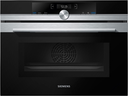Picture of Siemens CM633GBS1 iQ700, build in oven with microwave