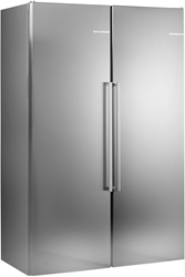 Picture of Bosch KAN95AI4P Side-by-Side / A +++ / 186 cm / 158 kWh / year / 348 L Cooling section / super-cooling