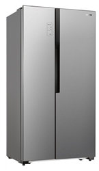 Picture of GORENJE NRS9182MX Side-by-Side (343 kWh / year, A ++, 1786 mm high, brushed stainless steel)