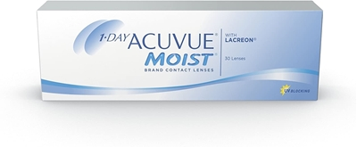 Picture of 1 Day Acuvue Moist (30 lenses) Johnson & Johnson