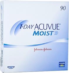 תמונה של עדשות מגע יומיות 1 Day Acuvue Moist (90 lenses) Johnson & Johnson