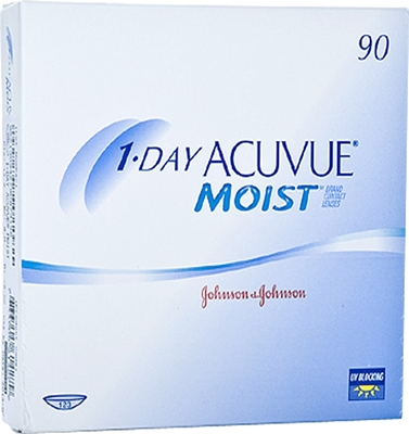 Picture of 1 Day Acuvue Moist (90 lenses) Johnson & Johnson