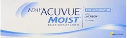 תמונה של עדשות מגע יומיות 1 Day Acuvue Moist for Astigmatism (30 lenses) Johnson & Johnson