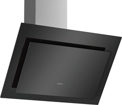 Picture of Bosch DWK87CM60 series 4 wall-mounted hood ,clear glass black