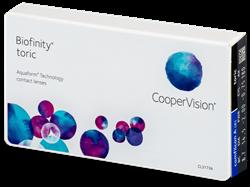 Picture of Cooper Vision Biofinity Toric 6 lenses per pack