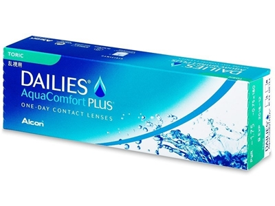 Picture of Dailies AquaComfort Plus Toric (30 lenses)