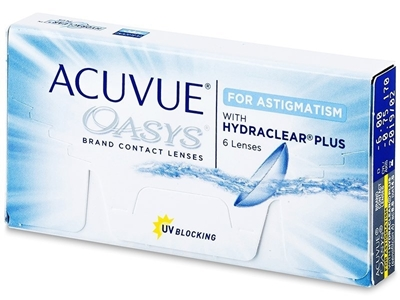 Picture of Johnson & Johnson Acuvue Oasys for Astigmatism -with Hydraclear Plus Yearly supply