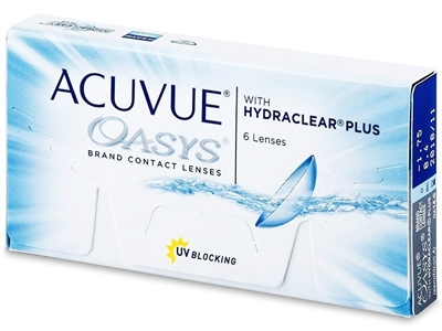 Picture of Johnson & Johnson Acuvue Oasys with Hydraclear Plus