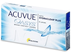 Picture of Johnson & Johnson Acuvue Oasys with Hydraclear Plus Yearly package
