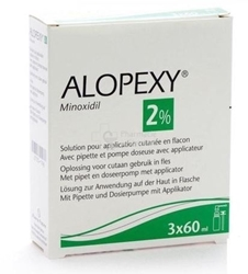 Picture of Alopexy 2%, 3x60 ml solution