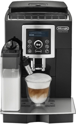 Picture of De'Longhi ECAM 23.466.Black, fully automatic coffee machine with milk system