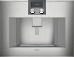 Picture of Gaggenau CM 450 111, fully automatic espresso machine series 400, operation top.