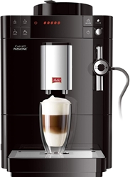 Picture of Melitta Caffeo Passione F530-102, fully automatic coffee machine with auto-cappuccinatore system, black