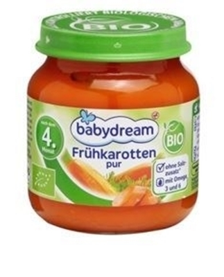 Picture of babydream Bio breakfast carrot 125g