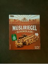 Picture of Chocolate  Granola Bars No extra sugar