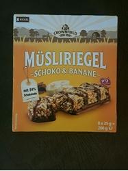 Picture of Chocolate Banana Granola Bars