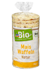 Picture of Gluten-free corn crackers nature