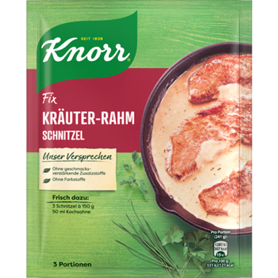 Picture of Knorr Fix Herbal Cream Schnitzel 47g