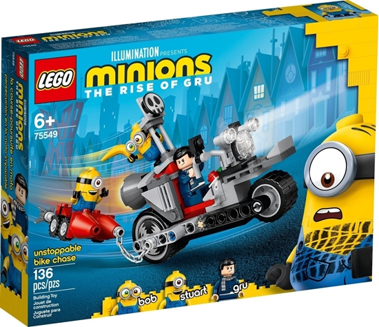 Picture of  LEGO Minions - Unstoppable Motorbike Hunting (75549)