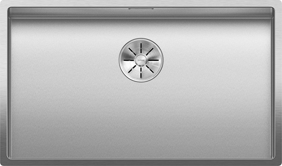 Picture of Blanco 523391 CLARON 700-IF Durinox kitchen sink, stainless steel, 700 mm bowl width