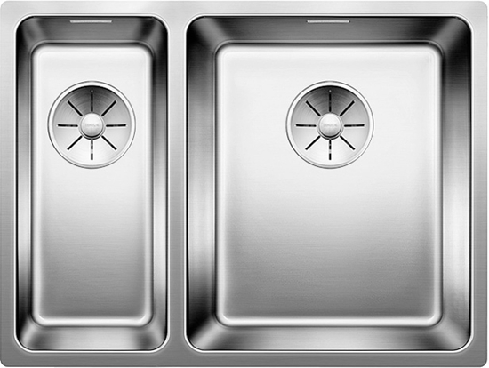 Picture of BLANCO Andano 340/180-U Undercounter sink InFino silk gloss without pull knob 522977