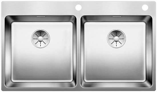 Picture of BLANCO Andano 400/400-IF / A Stainless steel sink InFino with pull knob 522998