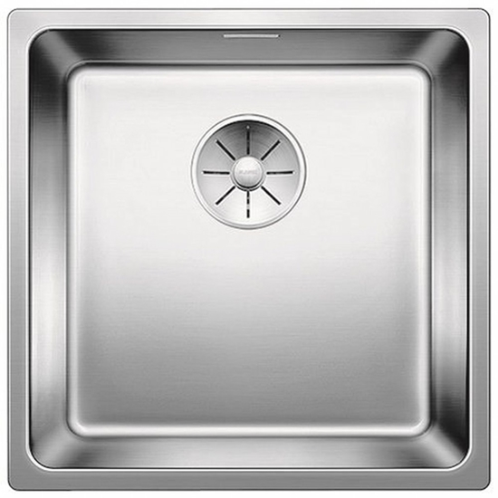 Picture of BLANCO Andano 400-IF stainless steel sink InFino silk gloss without pull knob 522957