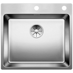 Picture of BLANCO Andano 500-IF / A stainless steel sink InFino silk gloss with pull knob 522994