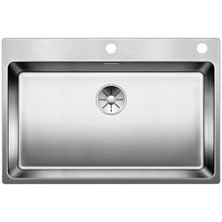 Picture of BLANCO Andano 700-IF / A stainless steel sink silk gloss with Ablauffernbed. 522995
