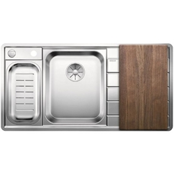 Picture of BLANCO AXIS III 6 S-IF Edition stainless steel sink left 522107