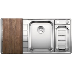 Picture of BLANCO AXIS III 6 S-IF Edition stainless steel sink right 522106