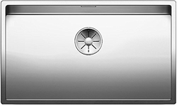 Picture of Blanco Claron 700-IF, sink without battery bank, kitchen sink, for normal and flush installation, InFino spout, stainless steel satin gloss; 521580