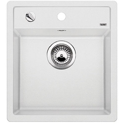 Picture of BLANCO DALAGO 45 Silgranit built-in sink with eccentric white 517160