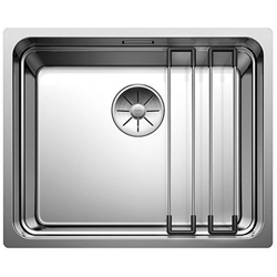 Picture of BLANCO Etagon 500-U stainless steel sink silk gloss without pull knob 521841