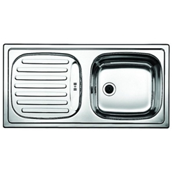 Picture of BLANCO FLEX stainless steel sink natural finish reversible 511917