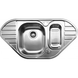 Picture of BLANCO LANIS 9 E Stainless Steel Sink Stainless Steel Brush Finish 516051