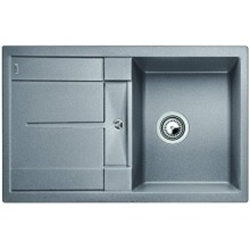 Picture of BLANCO METRA 45 S kitchen sink alumetallic without eccentric 513186