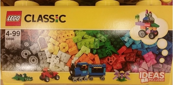 Picture of Lego 10696 Classic - Medium Creative Brick Box