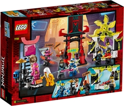 Picture of LEGO 71708 NINJAGO marketplace mini figure set with Digi Jay, Avatar Pink Zane and Avatar Harumi