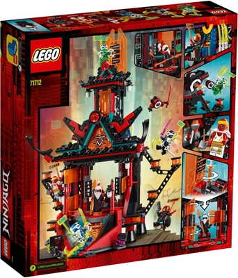 Picture of LEGO 71712 Ninja Empire Temple of Nonsense, Construction Set with 6 minifigures, Ninja Toy for Children