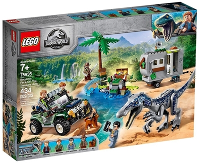 Picture of LEGO 75935 - Jurassic World Baryonyx 'showdown: the treasure hunt, construction kit