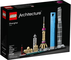 Picture of LEGO Architecture 21039 Shanghai Collector's Model