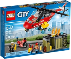 Picture of Lego City 60108 Chopper and motorcycle