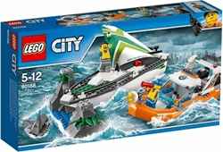 Picture of LEGO City 60168 - Segelboot in Not