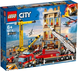 Picture of LEGO City 60216 Fire Department in the city