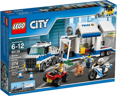 Picture of LEGO City Police 60139 - Mobile Operations Center, construction toys
