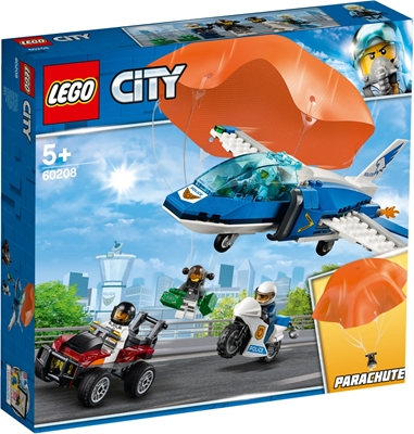 Picture of Lego City police escape by parachute 60208
