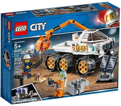 Picture of LEGO City Space 60225 Mars Rover Research Vehicle (202 Pieces)