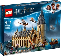 Picture of LEGO Harry Potter 75954 Hogwarts Great Hall Construction Kit (878 Pieces), Single
